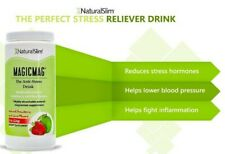 RelaxSlim Anti Stress Drink Powder with Organic Strawberry and Lime - 8 Oz.