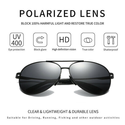 Aluminium HD Polarisé Photochromique Lunettes de soleil homme Caméléon Conduite Lunettes De