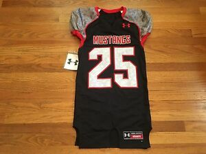 New Under Armour SMU Southern Methodist Men s M Mustangs Football ... 82662cbc8