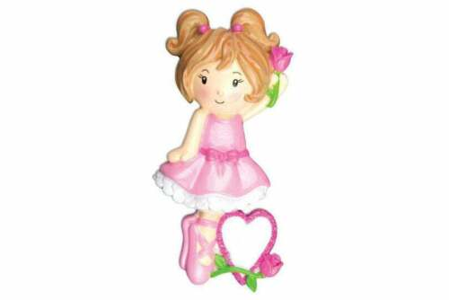 Ballet Girl Personalized Christmas Ornaments OR914
