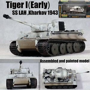 World-War-Two-German-Tiger-I-Tank-SS-LAH-Kharkov-1943-hiver-1-72-fini-Easy-model