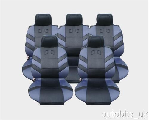 FULL SET 5X GREY SEAT COVERS CUSHION FOR  CITROEN C8 XSARA PICASSO BERLINGO
