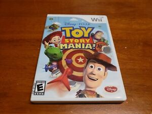 Toy Story Mania (Nintendo Wii, 2009) TESTED Fast Shipping