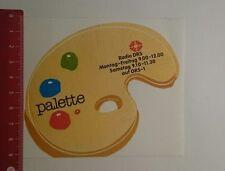 Aufkleber/Sticker: Palette Radio DRS 1 (20111672)