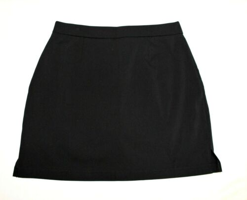 RAFAELLA WOMEN/'S PAINTED FLORAL SKORT ACTIVE SKIRT~ BLACK~ASSORTED SIZES NEW