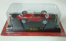FERRARI 246 F1 1958 MIKE HAWTHORN F1 FORMULE 1 N°16 rouge au 1/43 avec blister