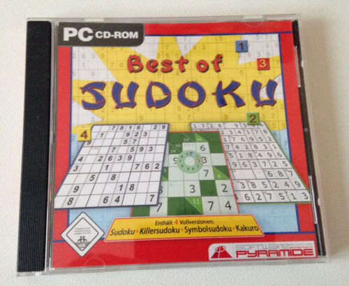 1 von 1 - Best Of Sudoku (PC, 2007, Jewelcase)
