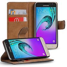 Klapptasche für Samsung Galaxy J3 2016 Handy Hülle Case Flip Cover Wallet Etui