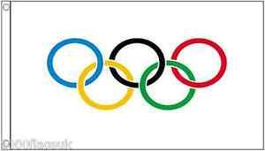 Olympic Games IOC 5'x3' Flag
