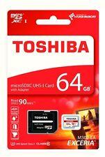 Memoria Toshiba 64 GB microSD XC CLASSE 10 UHS speed Class 3 per Smartphone
