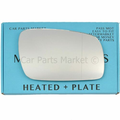 plate For VW Phaeton 02-07 Right side Aspheric Electric wing mirror glass