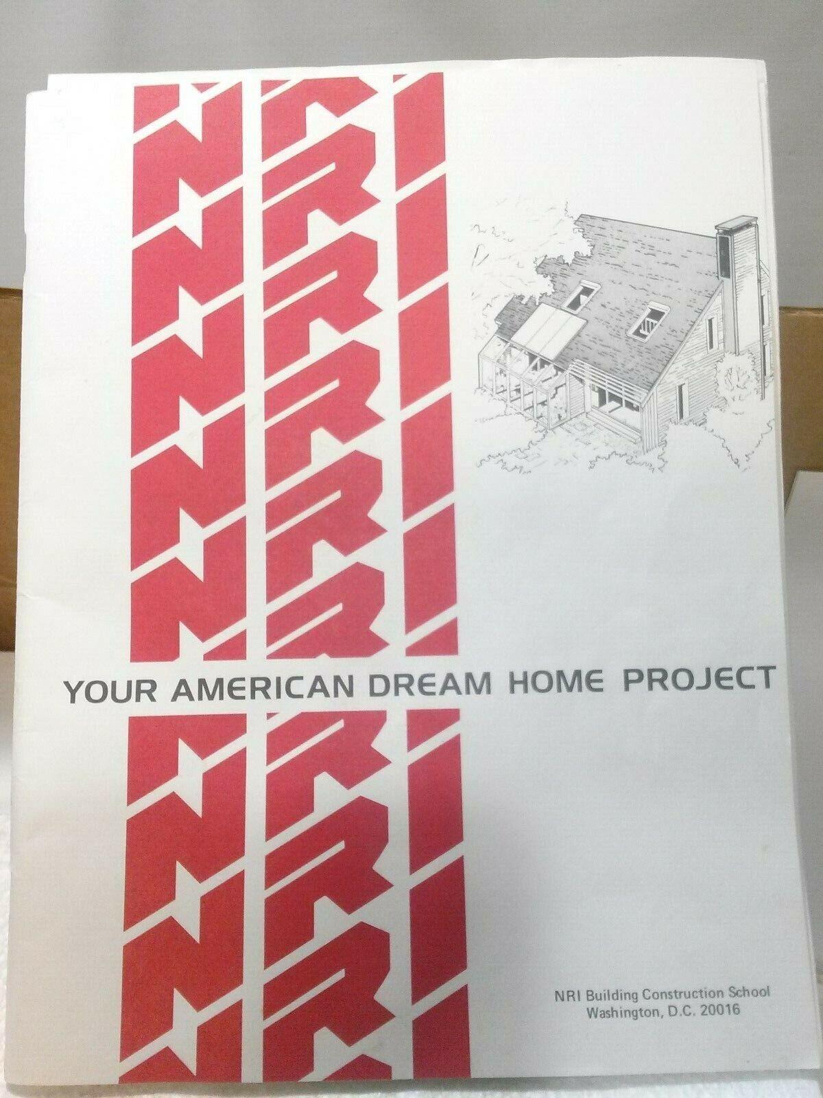 1982  300 conjuntos de modeloos arquitectónicos Vtg nri  5cp existencias antiguas y nuevas