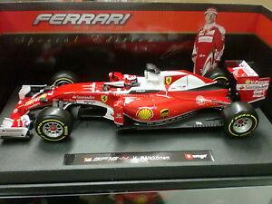 Burago 1/18 - Ferrari F1 Sf 16h K. Raikkonen 2016