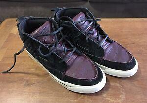Nike Aina Chukka Black Deep Garnet Birch Style: 395806-004
