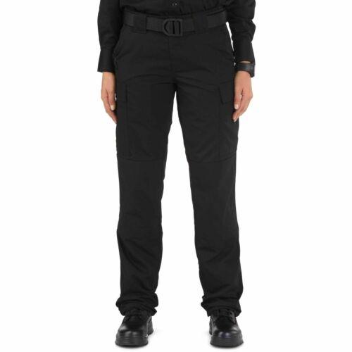 """5.11 Mujer TDU Pantalones Tácticos Negro 31/"""" Cargo Pantalones de pierna regulares hay etiquetas"""