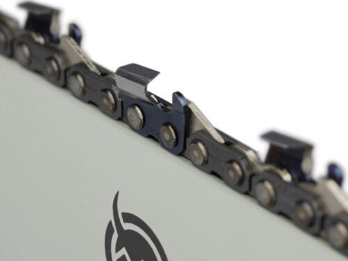 """2 Ketten passend für Jonsered 630 45 cm 3//8/"""" 68 TG 1,5 mm Sägekette Schwert"""