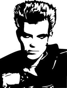 White Wedding Billy Idol.Details About Billy Idol Vinyl Decal Sticker Rebel Yell Mony White Wedding 80 S New Wave