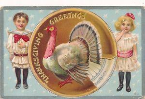 THANKSGIVING-Girl-Boy-and-Turkey