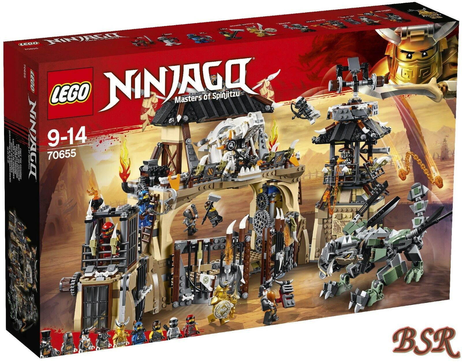 LEGO® Ninjago Ninjago Ninjago  70655 Drachengrube & 0.- Versand & NEU & OVP 3739e4