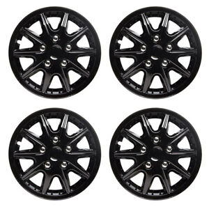 Image is loading Revolution-14-Inch-Wheel-Trim-Set-Gloss-Black-