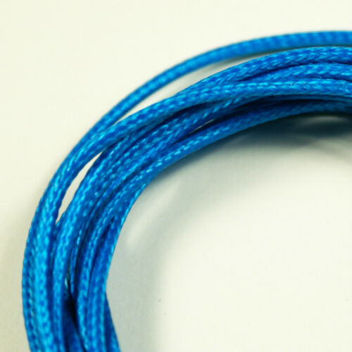 Vintage Style Single Conductor Guitar Wire  6-Foot 26 AWG Blue