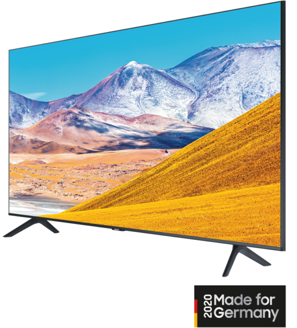 Samsung GU55TU8079 SmartTV Netflix Amazon Prime SkyQ Disney+ inkl. 6 Monate HD+