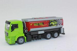 Siku 2716 MAN Tankwagen Werbemodell Limitiert Grüne Tankstelle Westfalen