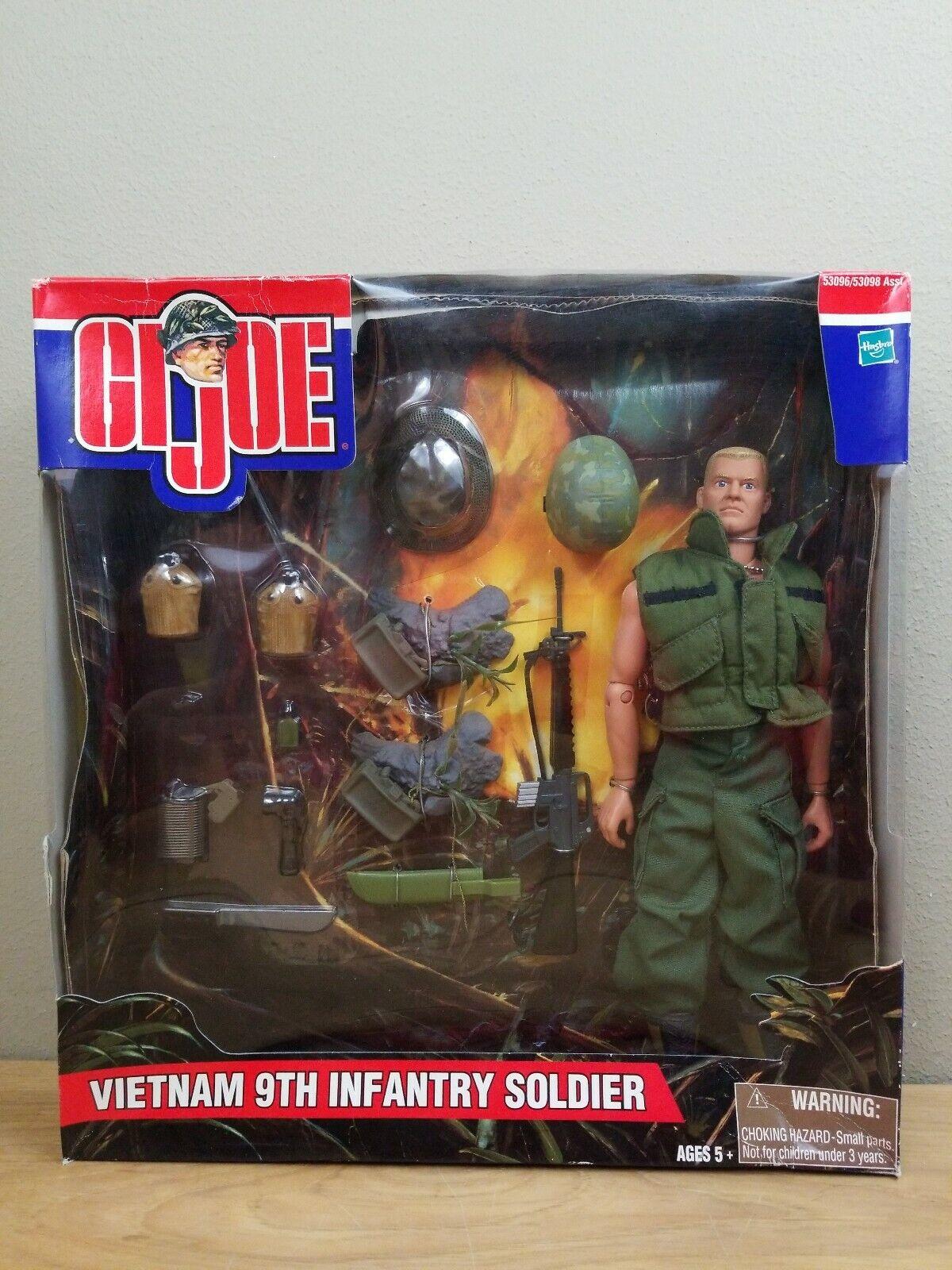 G.I. Joe Vietnam 9th Infantry Soldier Figurine action figure military MIL1
