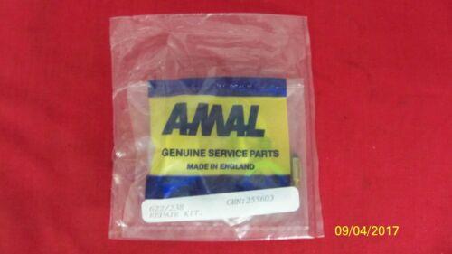 NEW GENUINE AMAL 600 /& 900 SERIES CONCENTRIC CARB REBUILD KIT 622//238