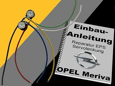 directivo servo sensor reparación Opel Corsa C dirección asistida EPS reparac
