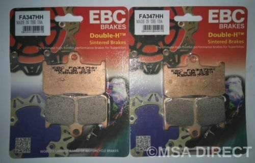 Victory Cross Country (2010 to 2017) EBC FRONT Sintered Brake Pads (FA347HH)