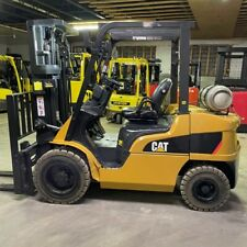 2014 Cat 2p6000 6000lbs Pneumatic Used Forklift Withtriple Mast Sideshift Fork Pos