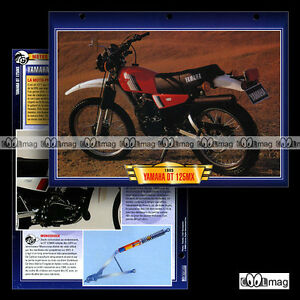 #097.02 Fiche Moto YAMAHA 125 DTMX (DT 125 MX) 1977-1994 Trail Motorcycle Card - France - État : Occasion: Objet ayant été utilisé. Consulter la description du vendeur pour avoir plus de détails sur les éventuelles imperfections. ... - France