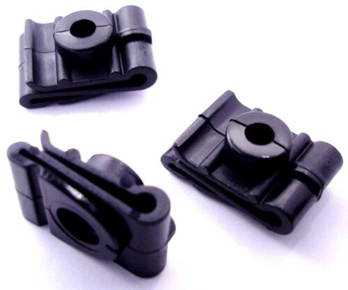 10x Plastic Speed Nuts Spire Clips for Fixing Wheel Arch Lining /& Splashguard