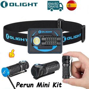 OLIGHT Perun Mini Kit 1000 lúmenes Linterna EDC de cabeza Recargable LED Luz