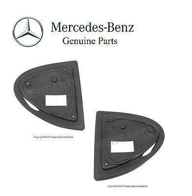 NEW Mercedes GENUINE W220 S350 S430 Set of Left and Right Door Mirror Base Seal