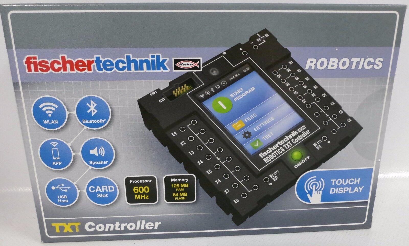 NEU fischertechnik 522429 ROBOTICS TXT Controller OVP