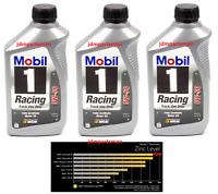 Mobil 1 0w-50 Racing Synthetic Zinc-phosphorous Motor Oil - 1 Quart (pack Of 3)
