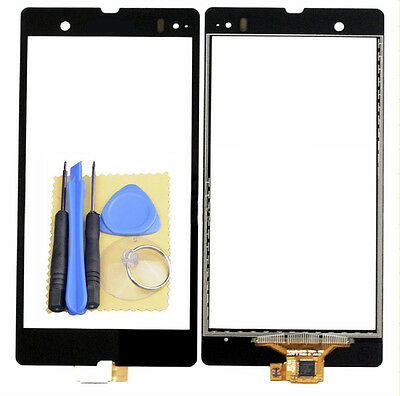 Black Digitizer Touch Screen Panel For Sony Xperia Z L36h L36i C6602 C6603+Tools