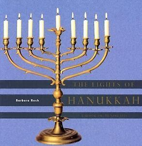 The-Lights-of-Hanukkah-A-Book-of-Menorahs-by-Barbara-Rush-2003-Hardcover