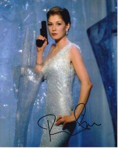 Rosamund Pike Autographed James Bond 007 Die Another Day Miranda