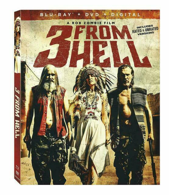 3 from Hell (Blu-ray/DVD, 2019) for sale online | eBay