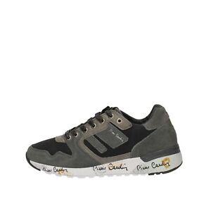 Scarpe-da-uomo-Pierre-Cardin-Sneakers-sportiva-PC611-Grigio-Strinagata-sportiva