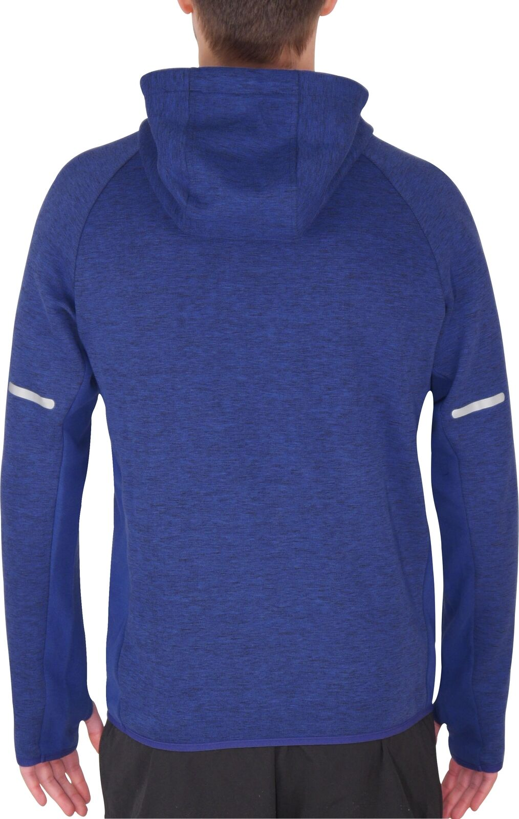 Details about  /More Mile Mens Training Hoody Blue Soft Touch Stylish Gym Running Workout Hoodie