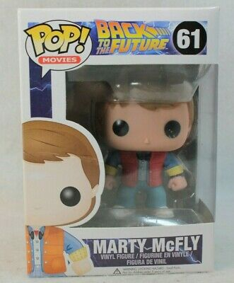 Funko Pop Movies Back to the Future Marty McFly Vinyl Figure Item #3400