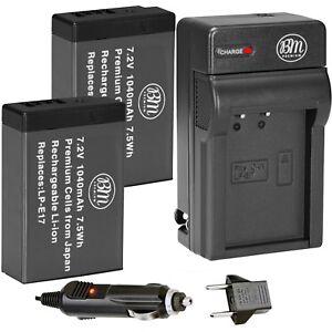 2X-LP-E17-reemplazo-de-la-bateria-y-CA-DC-Cargador-para-Canon-M5-T6i-T6s-T7i-77D