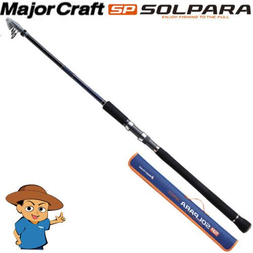 Major Craft SOLPARA SPXT-86M Medium telescopic fishing spinning rod