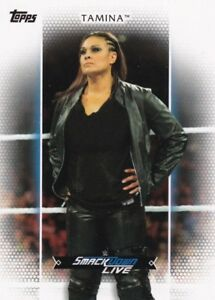 2017 Topps Wwe Femmes Division- Roster Carte #R-36 Tamina ZhIocbRg-09111105-197886282