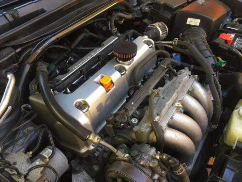 Valve Cover Breather Oil Cap-Honda B F H Series Engines Gunmetal Gray D