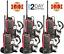 Long Range Walkie Talkie 6 Set 5 Miles Two Way Radio Charge Headset Waterproof